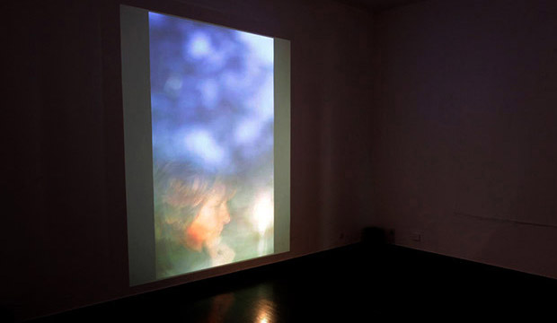Installation view at Škuc Gallery
